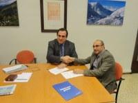 Conveni entre la fundació CEEILLEIDA de la Diputació de Lleida i la INCUBADORA D'EMPRESES