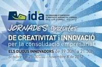 Jornades gratuïtes de creativitat i innovació per la consolidació empresarial